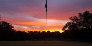 Waterford Golf Club Sunset