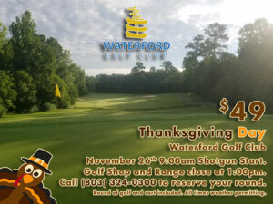 Thanksgiving Day at Waterford Golf Club